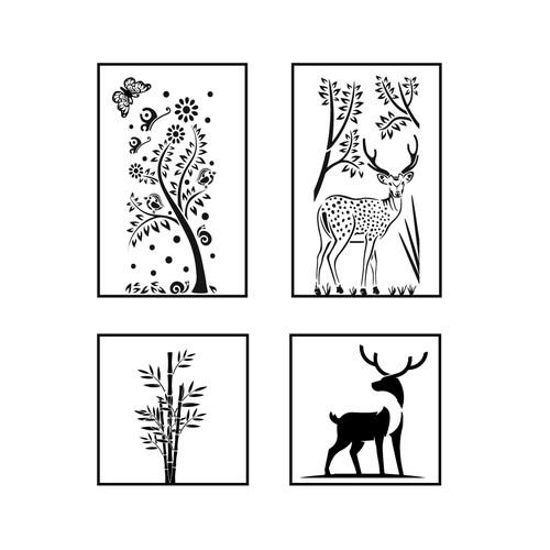 Beautiful stencils