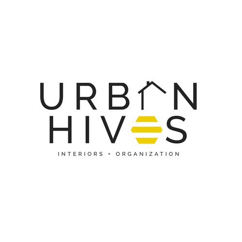 Minimal Logo for Urban Hives