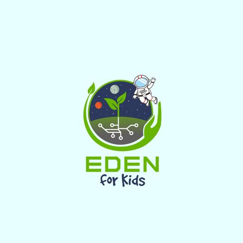 Eden for Kids design logo