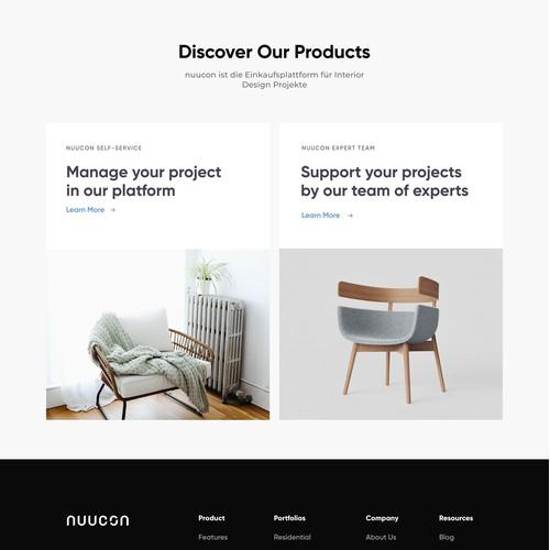 Nuucon Website Design