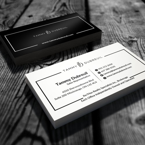 Two-side business cards