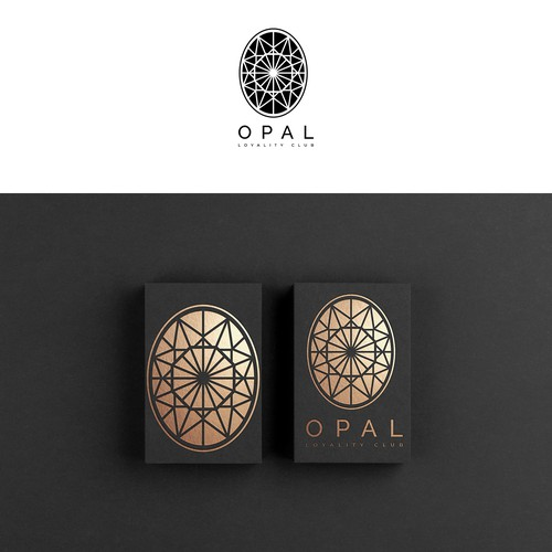 Luxury design for a card discount