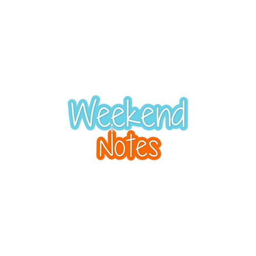 Create a hand-written logo for WeekendNotes - Australia's biggest events website