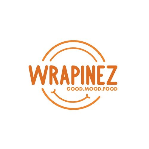 Concept logo for Wrapinez.