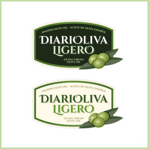 Logo/label concept for spanish olive oil