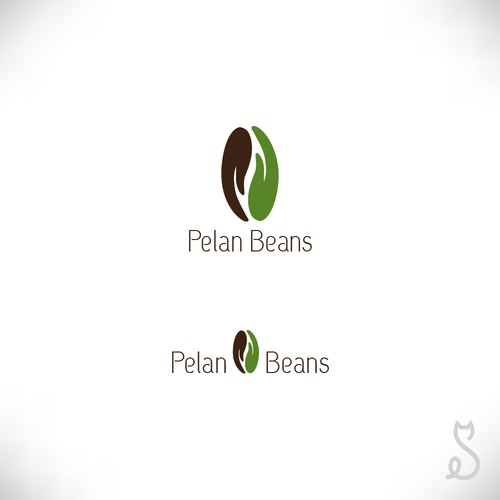 Coffee beans logo design