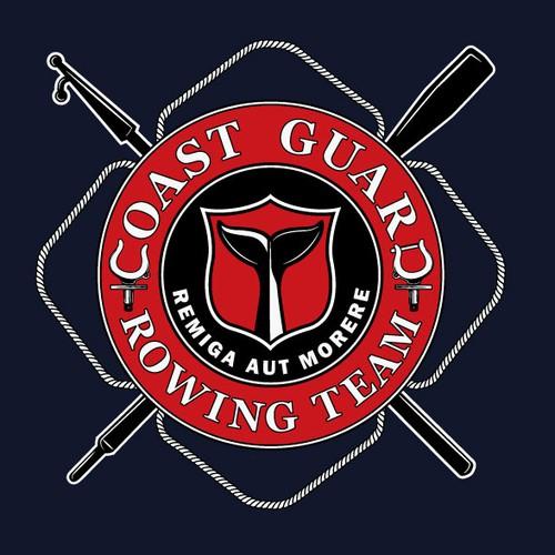 Logo for US coast guard rowing team