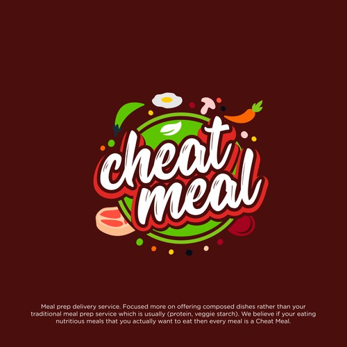 Bold Logo for food health supplier.