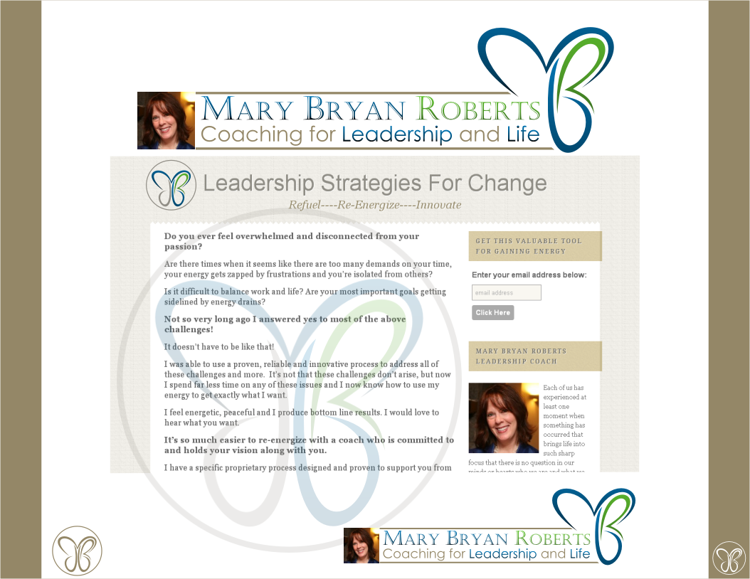 Create the next logo for Mary Bryan Roberts