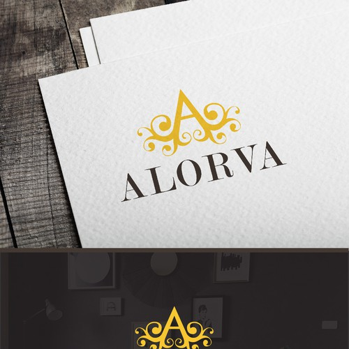 Logo Design for Alorva Home Products