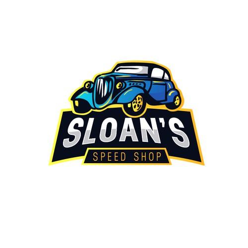 speed shop logo