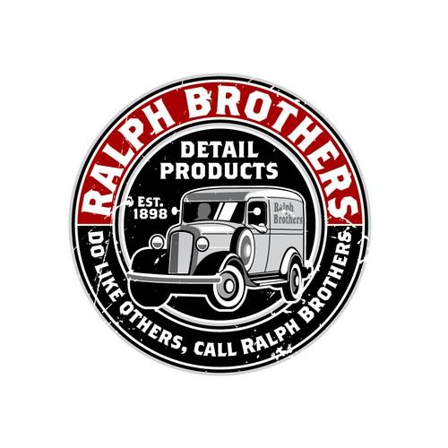 Vintage-styled logo