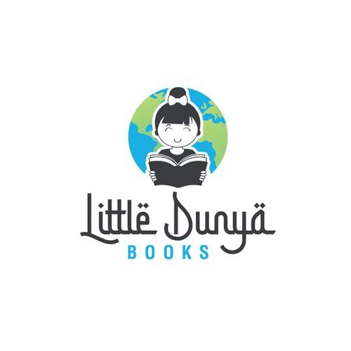 """""""Little Dunya Books"""" Logo Design"""