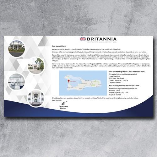 Postcard for Britannia