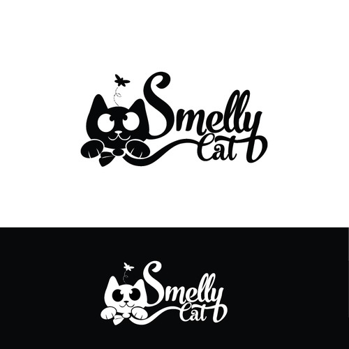 Logo for clothing brand meant to help rescued cats found in shelters.