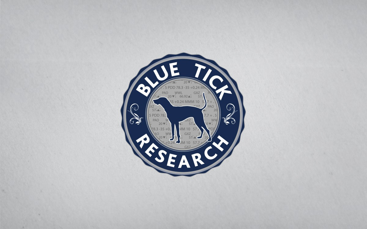 Create the next logo for Blue Tick Research
