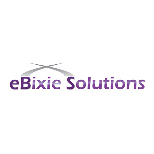 logo for eBixie Solutions ('B' and 'S' should be capitalized.)