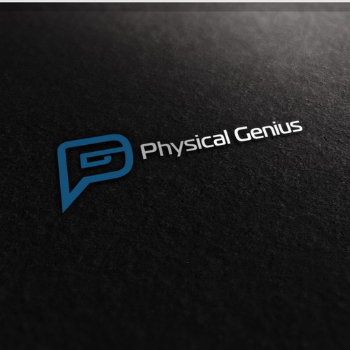 Physical Genius logo design