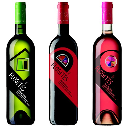 Flogites Wine Bottle