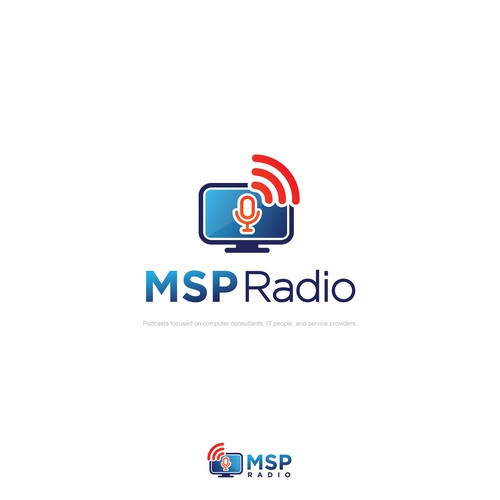 Logo entries for MSP Radio
