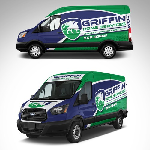 Griffin Home Services full Wrap design
