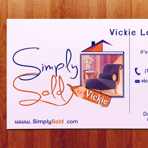 Create the next logo for Simply Sold by Vickie