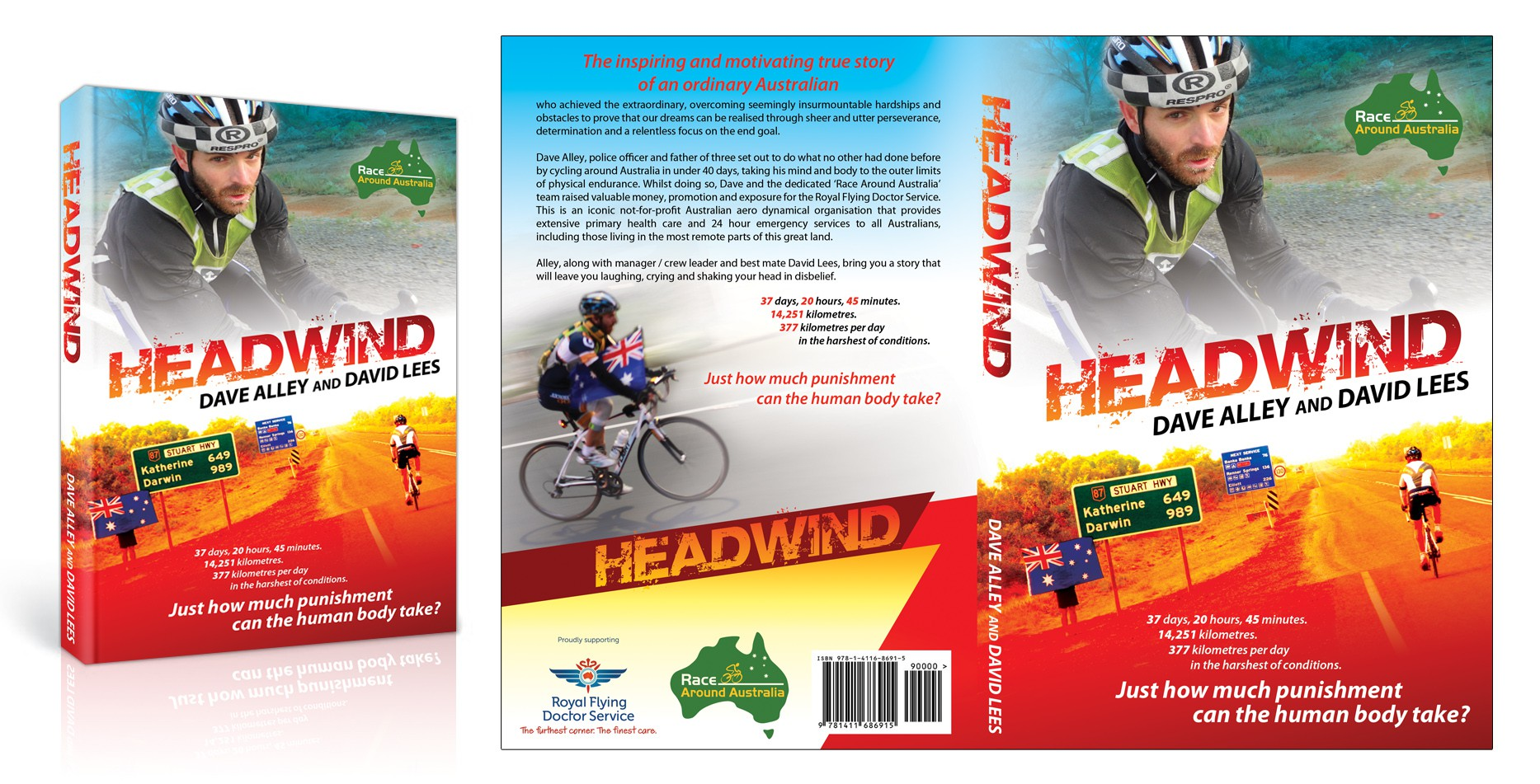 Help Race Around Australia with a new book or magazine cover