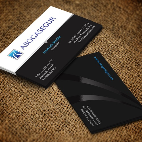 Abogasegur - tarjeta de visita premium