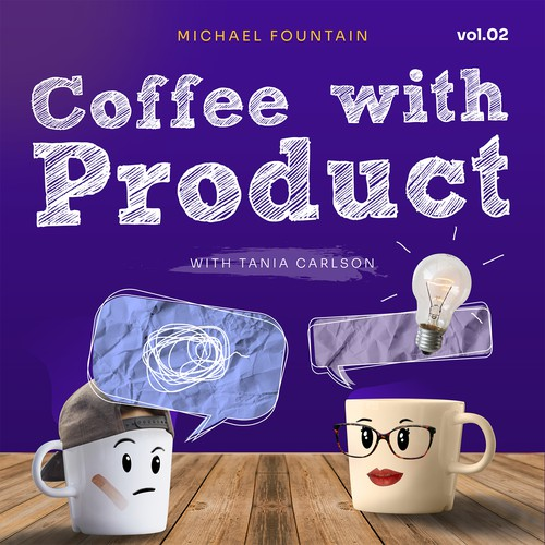 Podcast Cover Art for Coffee with Product