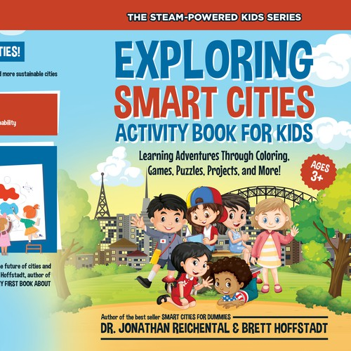 Explore Smart Cities Activity book for Kids