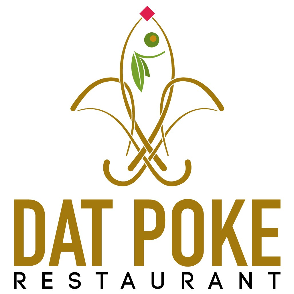 Design a authentic New Orleans logo for our new restaurant Dat Poke !