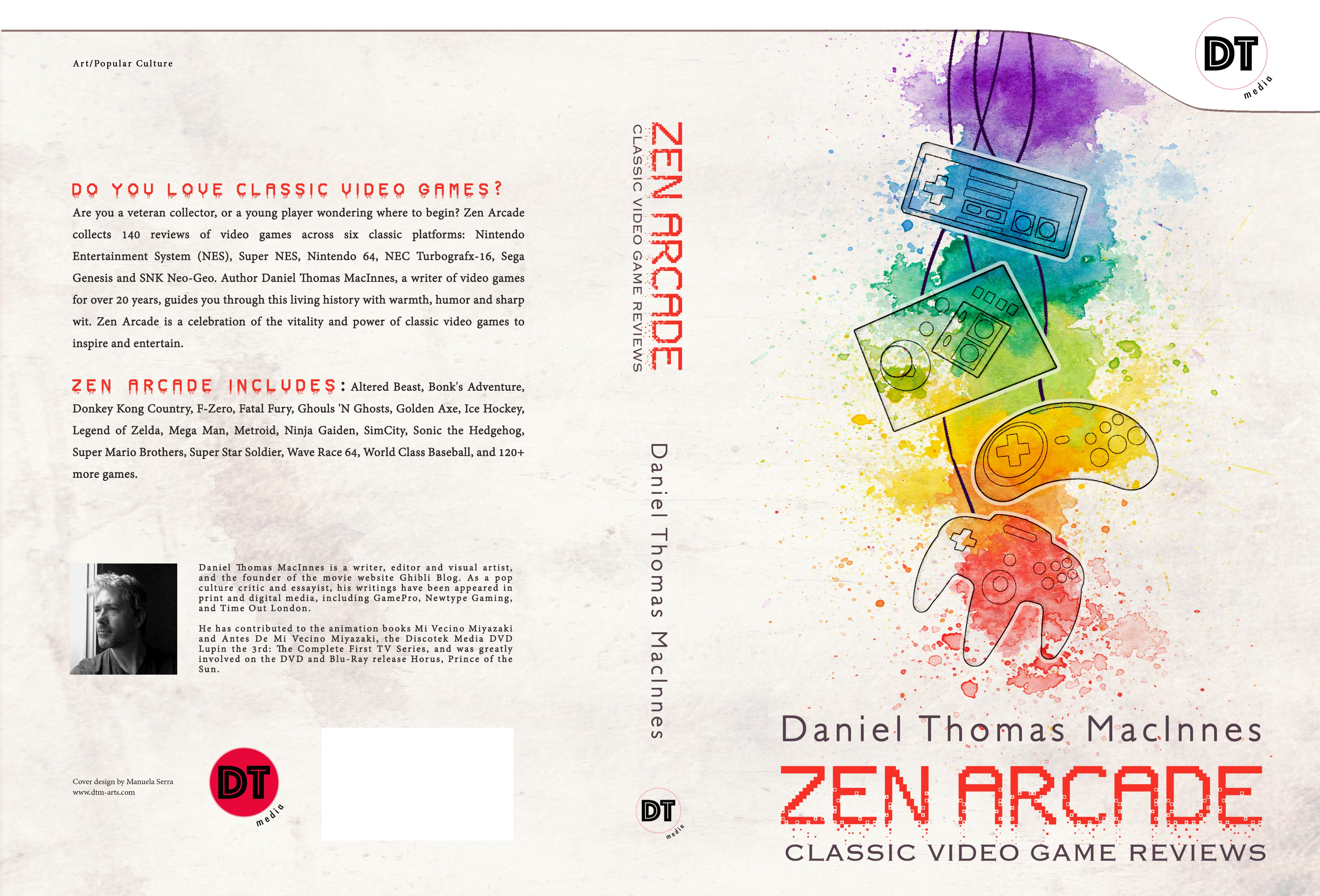 """""""Zen Arcade: Classic Video Game Reviews"""" needs an awesome and fun cover design"""