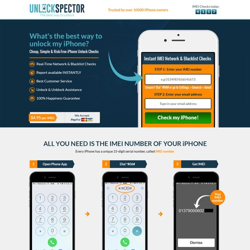 Highly User-friendly design concept for Unlock Spector