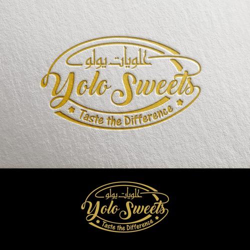 Yolo Sweets Logo Design