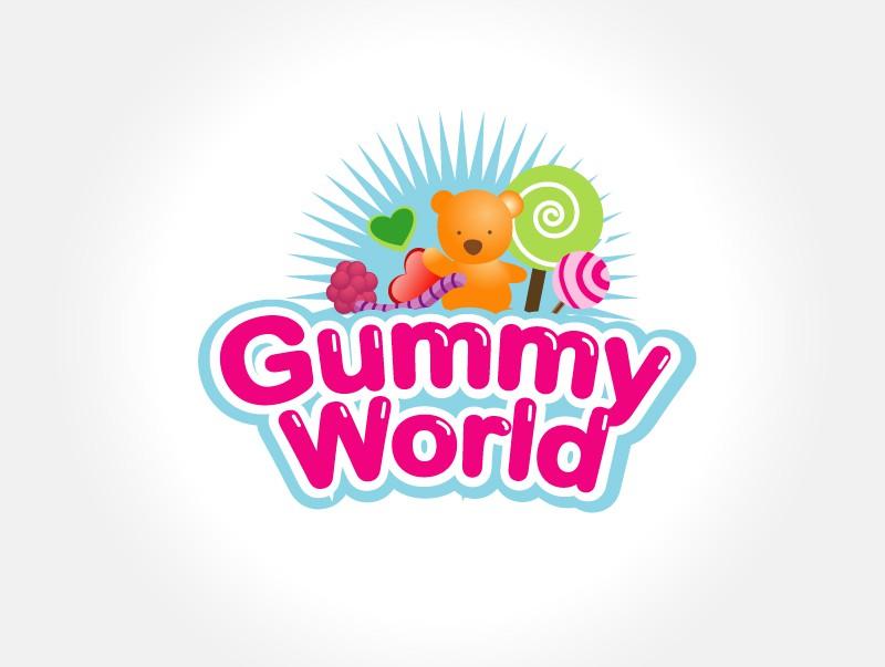 logo for Gummy World