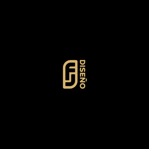 logo concept for FJ Design