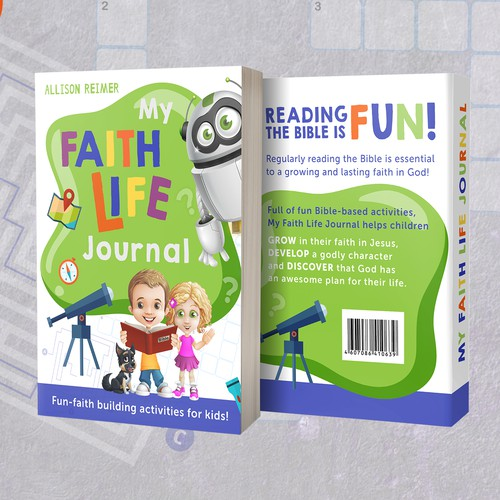 Book cover (journal for children)