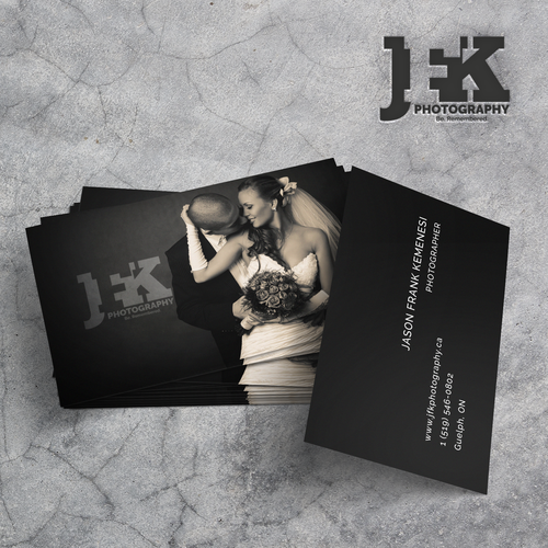 Logo & business cards for a photographer