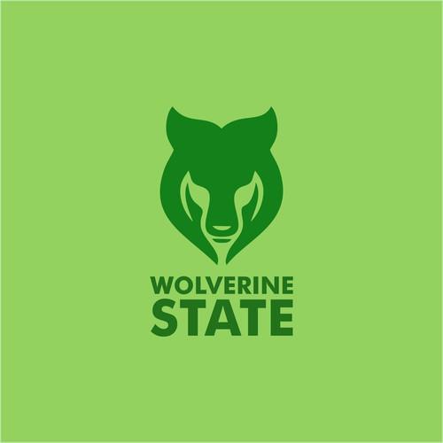 green logo animal