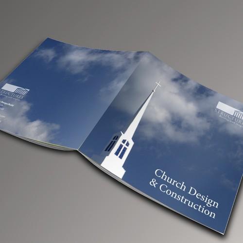 brochure design for Structures Design/Build