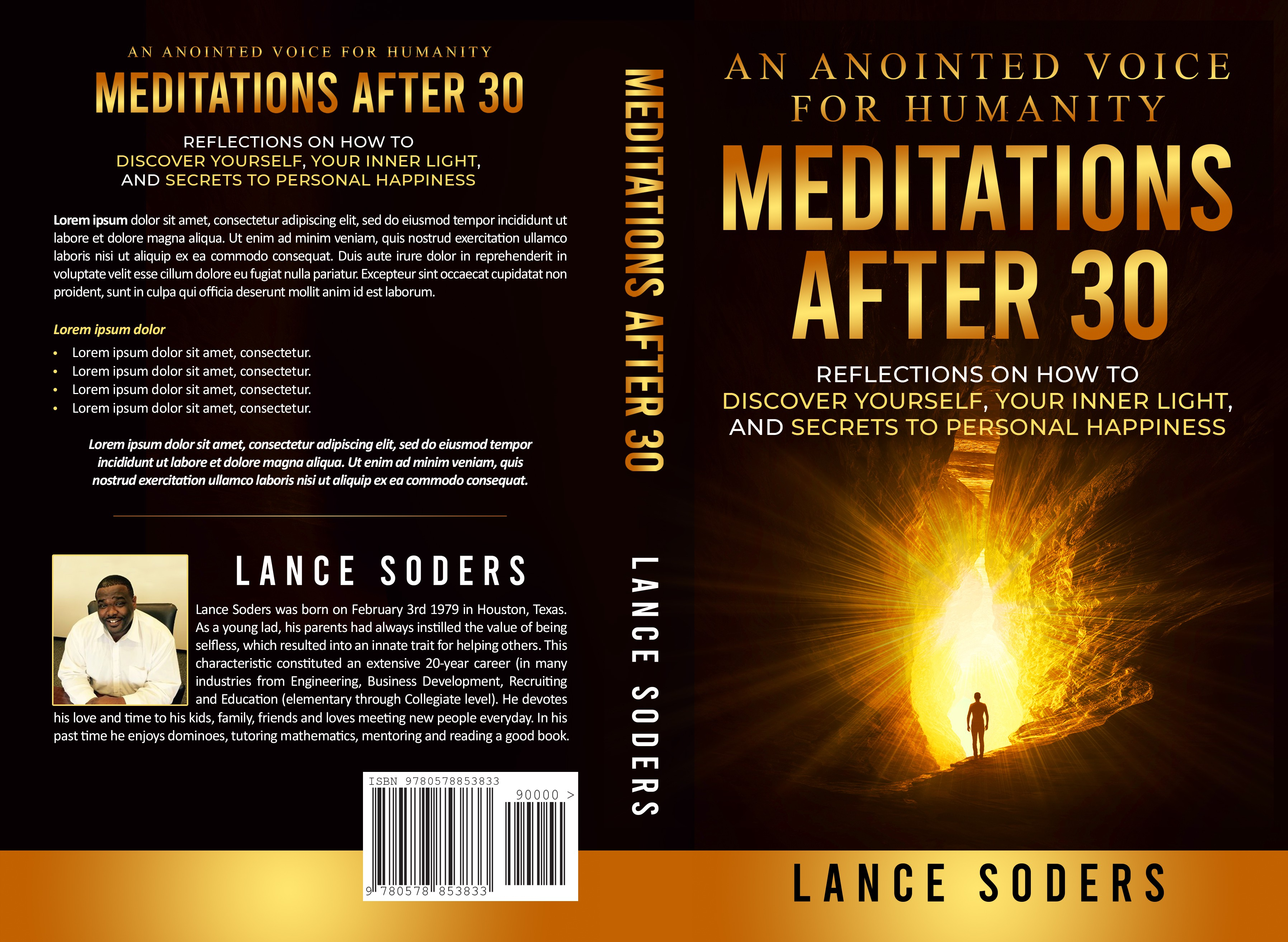 Meditations after 30 book cover - Contest