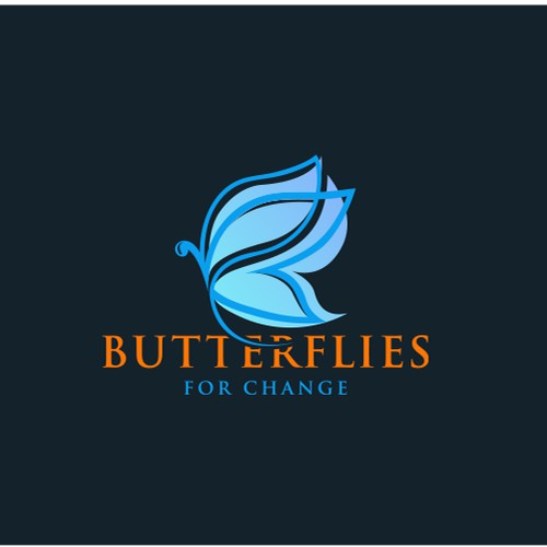LOGO CONCEPT FOR BUTTERFLIES FOR CHANGE