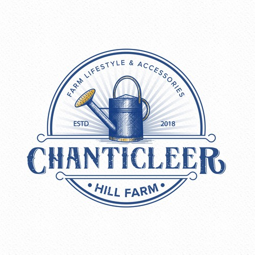 Chanticleer Hill Farm Logo Design