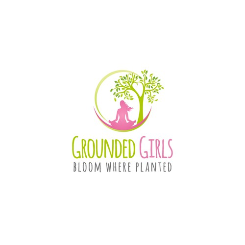 Get Grounded logo for community of girls, ages 9-16, designed to build self esteem