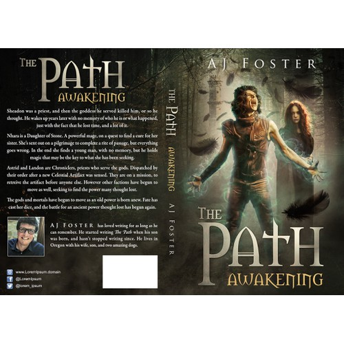 The book cover for The Path: Awakening
