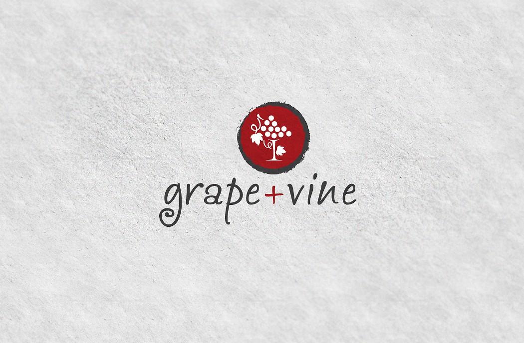 Create the next logo for Grape + Vine
