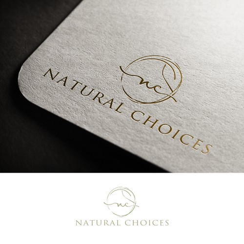 Logo for natural skin products