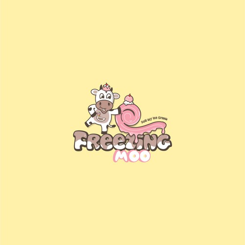 Logo concept for Freezing Cow