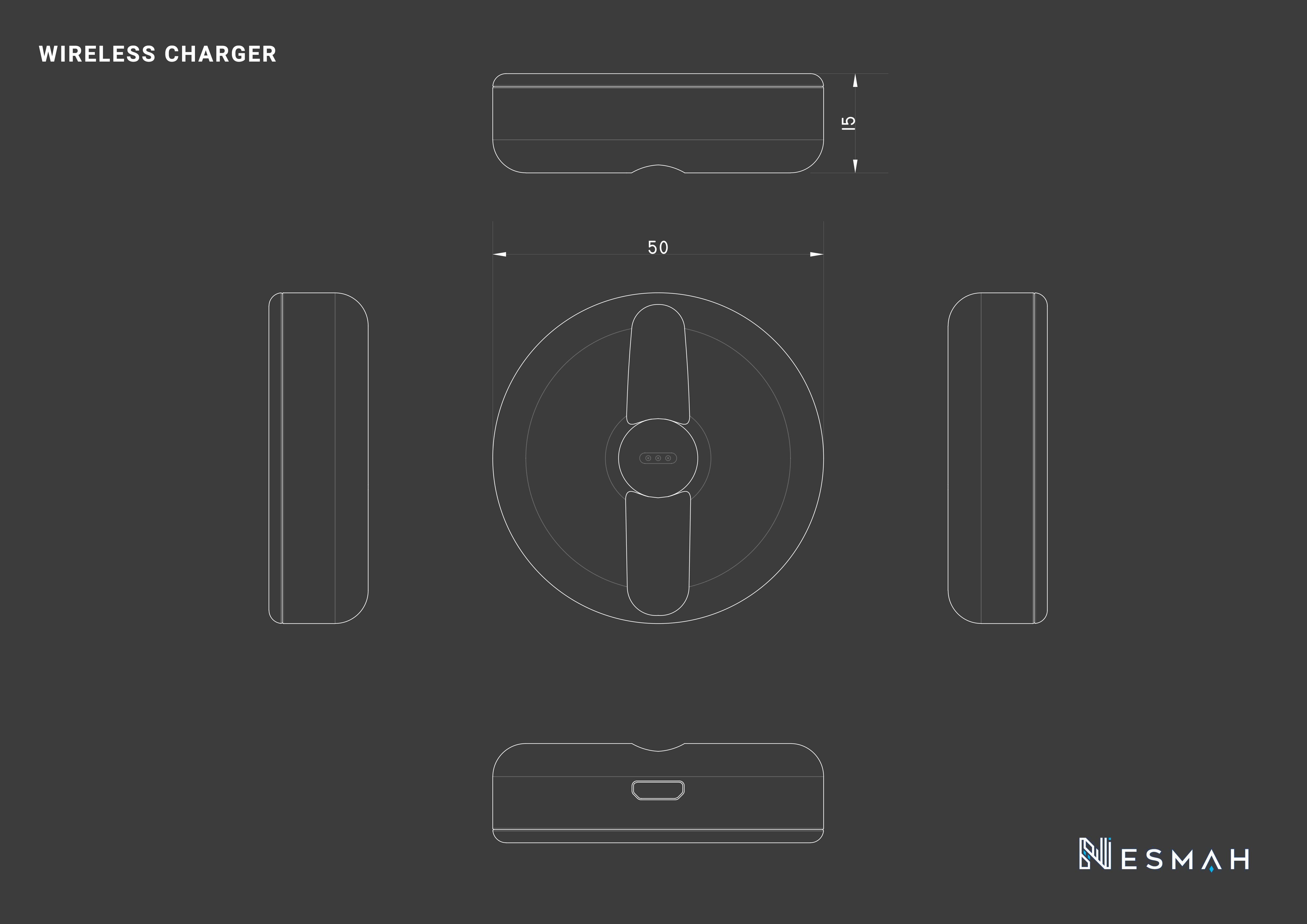 Nesmah product 3D shape