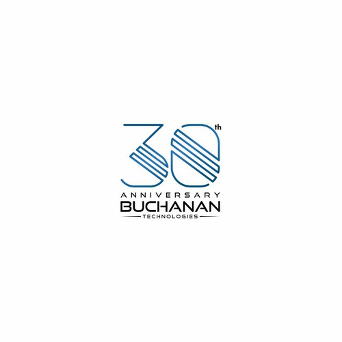 80s logo for Buchanan Tech.